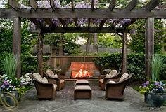 We are wanting to build a backyard pergola - but I like the cleaner lines and straight cuts like this