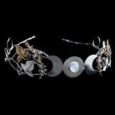 Circlets | ... Circlets, Sterling Silver Renaissance Wedding Bridal Circlets