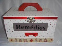 caixa de remedio decorada - Google Search