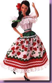 1995-Barbie Messicana