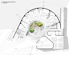 design Gallery of Architecture and Urban Space first place in the design of the Los Grillos Kindergarten in Colombia 8 Concept Architecture, Landscape Architecture, Interior Architecture, Theater Architecture, Museum Architecture, Circular Buildings, Kindergarten Design, Plan Design, Religious Architecture
