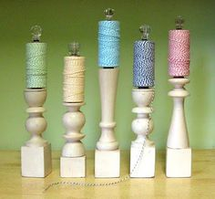 Twine holder/display from Cathe Holden