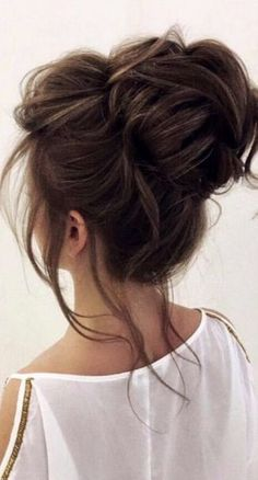 Coiffure De Mariage : Description Featured Hairstyle: Elstile; www.elstile.com; Wedding hairstyle idea.