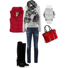 winter fun outfit
