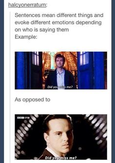 I see your point.<< either way, the answer is yes<<oh, doctor, why would you leave Rose?!<<COUNT THE SHADOWS