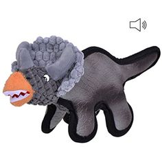 Petacc Triceratops Pet Squeaky Toy Bite-resistant Sound Chew Toy Cute Dog Tooth Cleaning Toy for Dogs ** Check out the image by visiting the link. (This is an affiliate link) Cleaning Toys, Teeth Cleaning, Toy Bulldog, Dog Games, Dog Teeth, Puzzle Toys, Dog Toys, Cute Dogs, Pet Supplies