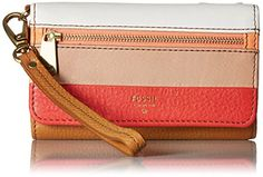 Fossil Preston Phone Multifunction, Pink Stripe * Click image for more details…