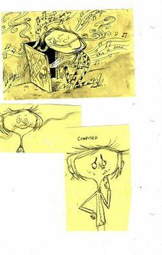 sketch book drawings - Coraline by Dankrall