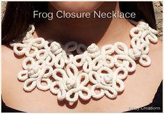 DIY Frog Closure Necklace