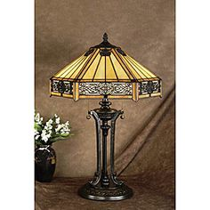 Tiffany-style Sunrise Table Lamp | Overstock.com Shopping - The Best Deals on Tiffany Style Lighting