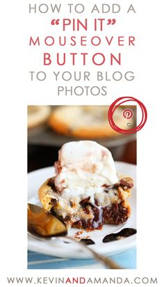 "Follow Kevin and Amanda on Pinterest. Have you noticed this trend on blogs lately? This is a new feature I've seen popping up everywhere. When you put your mouse over an image on the blog, a Pinterest logo pops up prompting you to ""Pin"" the image. At first I wasn't sure if I loved this …"