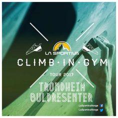 "136 likerklikk, 1 kommentarer – La Sportiva Norge (@lasportivanorge) på Instagram: ""We start our Climb In Gym Tour 2017 today at Trondheim Buldresenter - We hope that we see you…"""