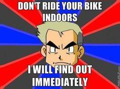 Professor Oak is watching you.