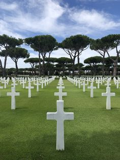 Picture of Thousands of graves at the American war cemetery in Normandy, France stock photo, images and stock photography. Places To Travel, Places To See, Military Cemetery, American Cemetery, Normandy France, American War, Most Beautiful Cities, D Day, Places