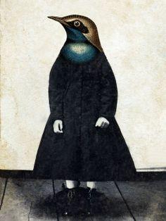 bird girl by stephanie rubiano, via Flickr