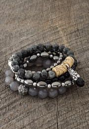 wisdom and courage bracelet set - Lacey Ryan Collection - maurices.com