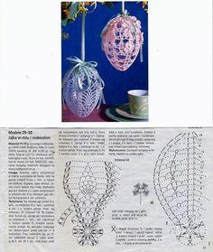 Image gallery – Page 372532200424753196 – Artofit Crochet Diagram, Crochet Chart, Thread Crochet, Diy Crochet, Crochet Doilies, Crochet Flowers, Crochet Christmas Decorations, Crochet Christmas Ornaments, Holiday Crochet