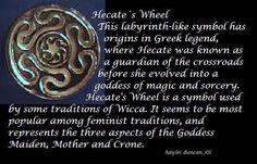Hail Hecate-my patron Goddess. Pagan Witch, Wiccan, Witchcraft, Witches, Witch Spell, Hecate Goddess, Moon Goddess, Lillith Goddess, Hecate Symbol