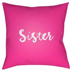 Surya Greek Life Sister Pillow -