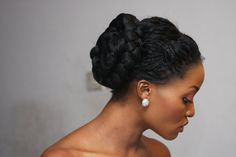 Glambox:Beautiful make~up is our hallmark!: Bridal hairstyles for natural hair***