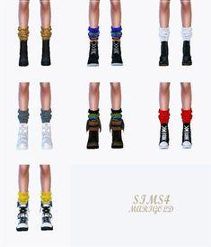 SIMS4 marigold: knit loose socks_니트 루즈삭스_여자 양말