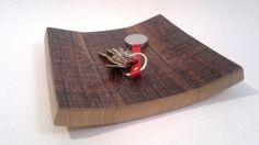 Svuota tasche in legno rovere recuperato da botti per l'invecchiamento del vino…