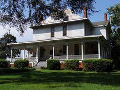 Barclay-Merrell House, c.1833, Talladega, Alabama