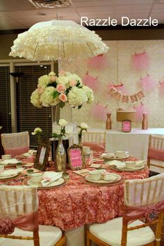 Baby Shower Girl Baby Shower Party Ideas | Photo 4 of 28 | Catch My Party