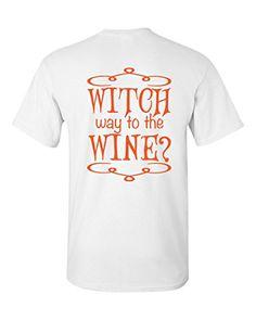 Witch Way To The Wine Halloween Short Sleeve T-Shirt Sout... https://www.amazon.com/dp/B01K0IF6JG/ref=cm_sw_r_pi_dp_x_PDHQxb3F32W53