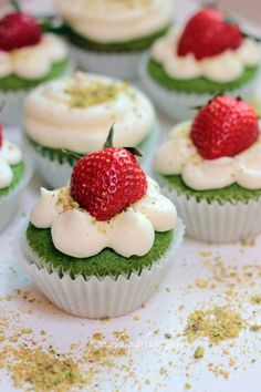 Spinach cupcakes. I swap all purpose flour to all purpose gluten free flour.
