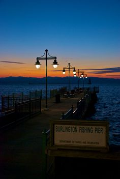 November Sunset On Lake Champlain, Burlington, Vermont, USA