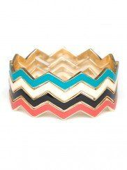 Chevron Bangles (set of 4)  Great jewelry and great prices!