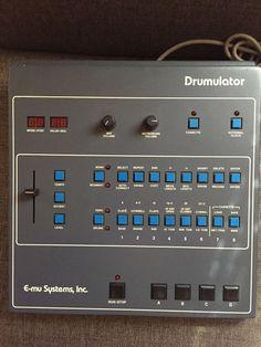 MATRIXSYNTH: Emu Drumulator SN 7201 with MIDI Sync