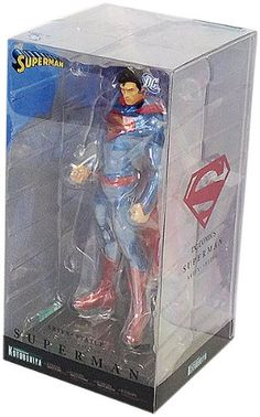 Kotobukiya Superman New 52 DC Comics ArtFX Statue *** Look into the picture by going to the web link. (This is an affiliate link). Superman News, Japanese Imports, New Readers, Dc Comics Characters, New 52, Batman Figures, Sideshow Collectibles, Geek Culture, Comic Character