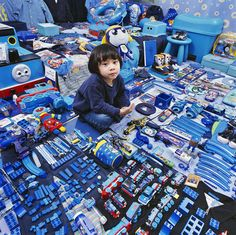 Blue Is For Boys, Pink Is For Girls: See Children Surrounded By Their Color-Coded Toys | Co.Exist | ideas + impact