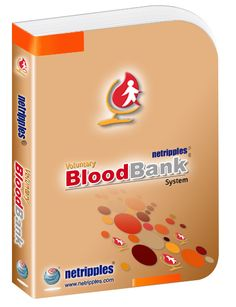 Netripples Voluntary Blood Bank Management System Software is a comprehensive ready to use software designed to automate and manage the activities of the Blood Bank which includes Donor Registration, Camp Donations, Blood Unit or Donor Screening,read more... at https://www.netripples.com/VoluntaryBloodBankManagementSystem_ReadMore.aspx