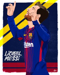 Lionel Messi celebruje gola w wersji rysunkowej FC Barcelona Messi Cr7, Neymar, Messi Beard, Soccer Drawing, Messi Drawing, Messi Poster, Messi News, Messi Goals, Barcelona Team