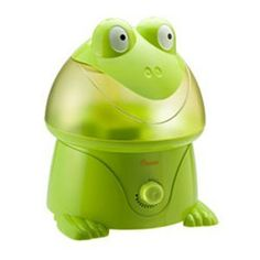 how to clean crane frog humidifier