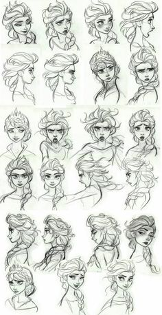 Frozen concept art - Elsa is sooo AWESOME!!