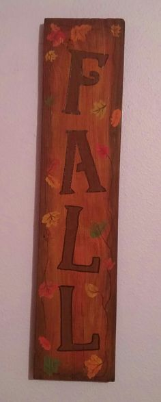 """""""Fall"""" pallet board 23x5 1/4"""