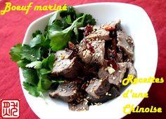 Recettes d'une Chinoise: J-11: Boeuf mariné aux épices 酱牛肉 jiàng niúròu
