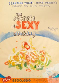 secrets of sexy cooking, riiko sakkinen