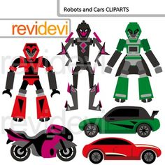 Robots and Cars clip art (digital clipart) transformers inspired. Robots and transportation.Clipart set for teachers and educators. Great resource for any school and classroom projects such as for creating bulletin board, printable, worksheet, classroom decor, craft materials, activities and games, and for more educational and fun projects.Buy in bundle, and save a lot!Link-Transformers inspired clip art (3 packs) bumblebee, optimus prime inspiredYou will receive:- Each clipart saved ...