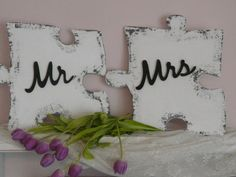 Puzzle groß Mr und Mrs shabby antik, Fotograf