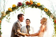 Ashlee and Tom's wedding at Rancho del Cielo in Malibu, California