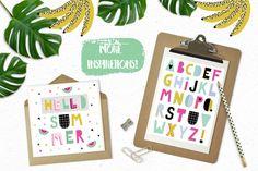 Hello Summer bundle  by lokko studio on @creativemarket