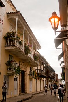 You can definitely feel the Spanish influence in the architecture of Cartagena, Colombia. My mother was born here. Places Around The World, Oh The Places You'll Go, Great Places, Places To Travel, Places To Visit, Around The Worlds, The Beautiful Country, Beautiful World, Beautiful Places