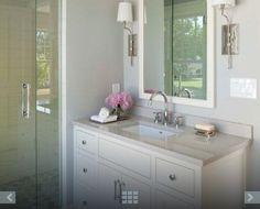 simple vanity - elevation custom homes