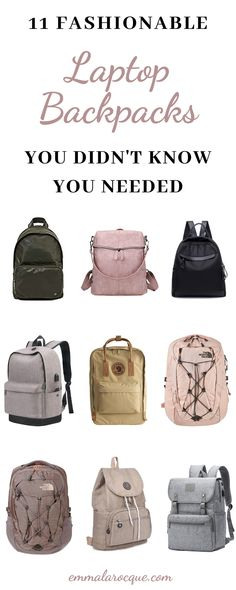 33 of the most trendy and cute school backpacks out there! These backpacks are great for college students, high school students, and teens in general. Super aesthetic backpacks for women and for travel. These backpacks come in all of the color and size options that you could dream of. Click to see them all! #school #backpack #college Backpacks For College Girl, Girl College Dorms, Trendy Backpacks, College Hacks, School Backpacks, Senior Year Of High School, Back To School, High School Students, College Students