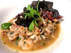 Portuguese dining: Portuguese shellfish rice at the L'AND Vineyards restaurant